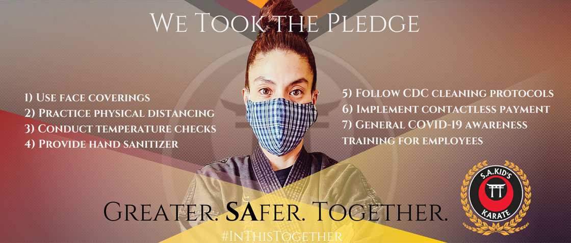 We took the virus protection pledge