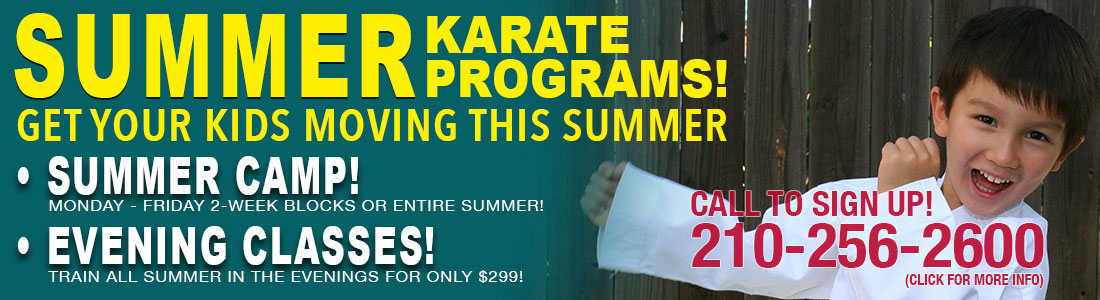 San Antonio Martial Arts Summer Camp